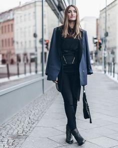 street style berlin fashion week january 2016