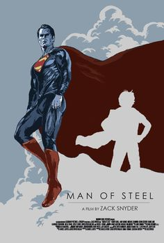 Man of Steel fan poster by airgita