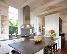Black White And Gray Granite Countertop Design, Pictures, Remodel, Decor and Ideas - page 2