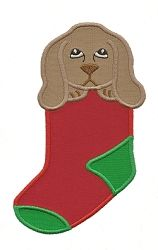 Puppy Stocking Applique - 3 Sizes! | Christmas | Machine Embroidery Designs | SWAKembroidery.com Applique for Kids