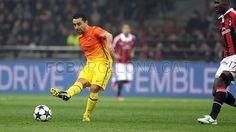 Xavi Hernández, FC Barcelona | Milan 2-0 FC Barcelona | . FOTO: MIGUEL RUIZ - FCB. [20.02.13]