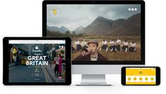 Expedia Visit Britain - we created an interactive web and mobile experience to inspire tourists to visit Great Britain in partnership with Visit Britain. Visit Britain, Great Britain, Layout, Places, Page Layout, Lugares