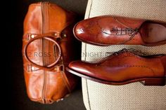 Ross Oscar Knight Photography. Shoes by Allen Edmond. Bag by Floto of Italy.