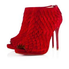 DIPLONANA SUEDE 120 mm, Suede, RED, Women Shoes.