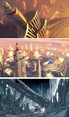 Concept art Thor - Nathan Schroeder