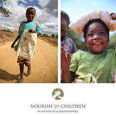 Maintenant commence le temps de donner. Donnez-vous et les enfants un sourire!