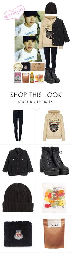 """/492/"" by danielagreg ❤ liked on Polyvore featuring STELLA McCARTNEY, Gucci, Monki, Poketo, Shrimps, Paul Frank and Urbanears"