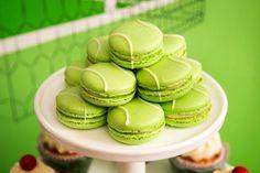Tennis Cake, Tennis Party, Beach Tennis, Macaroon Cookies, Macaroons, Sports Birthday, Birthday Parties, Hockey Birthday, Sports Party