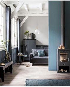 Mooie blauwgrijze kleur en taupe/grijze achtergrond