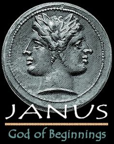 """January -- Janus's month Middle English Januarie Latin Januarius """"of Janus"""" Latin Janu(s) """"Janus"""" + -arius """"ary (pertaining to)"""" Latin Januarius mensis """"month of Janus""""  Janus is the Roman god of gates and doorways, depicted with two faces looking in opposite directions. His festival month is January.  Januarius had 29 days, until Julius when it became 31 days long."""
