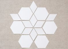 One of the great things about English paper piecing is being able to match a variety of different shapes together - just like a jigsaw, t...