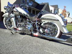2008 Harley Davidson Softail Deluxe FLSTN Custom