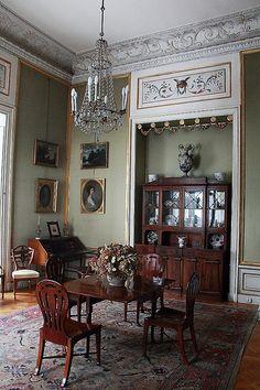 green room - Radziwiłł palace, Nieborów, Poland