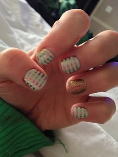 My Jamberry nails :) http://holmjams.jamberrynails.