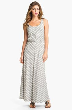 Chevron Stripe Maxi Dress now in stock!