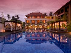 I have always wanted to go to Bali. Here's one of the best spas in the world, Conrad Bali Resort and Spa. Indonesia