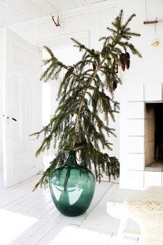 A giant pine branch, via Fryd   Design, originally spotted on Poppytalk.