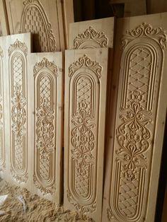 54 Super Ideas for main door design carving Wooden Front Door Design, Main Entrance Door Design, Wood Bed Design, Double Door Design, Door Gate Design, Wooden Doors, Contemporary Interior Doors, Pine Interior Doors, Door Design Interior