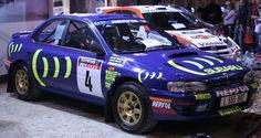Colin McRae's 1995 Group A Impreza 555