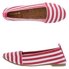 American eagle Callie Stretch A-line Slip-On flat With bold stripes, the Callie from American Eagle is sure to put a pep in your step! It features an elastic upper, ankle pull tab for easy on/easy off, elastic lining, cushioned insole, and durable outsole. Manmade materials. American Eagle  Shoes