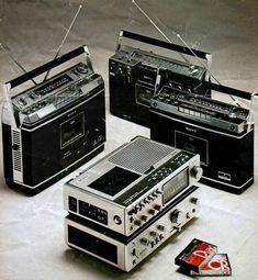 Stereo Compo SONY 1976 Sony, Radios, Stereo Amplifier, Transistor Radio, Audio Sound, Tape Recorder, Boombox, Audio Equipment, Audio System