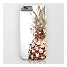 pineapple iPhone iPod Case (155 RON) ❤ liked on Polyvore featuring accessories and tech accessories