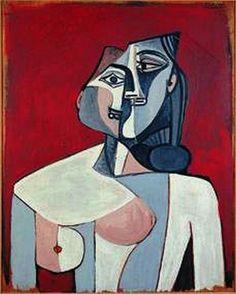 Pablo Picasso Torse de femme 1963.