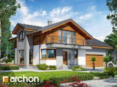 projekt Dom w budlejach 4 (G2) widok 1