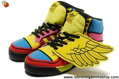 2013 New Adidas X Jeremy Scott Wings Color Shoes Fashion Shoes Store