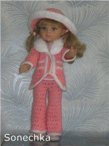 Свяжу спицами и/или крючком нарядные комплекты для кукол Galoob Baby Face, Paola Reina, Gotz, Adora