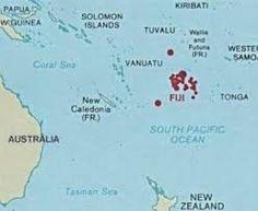 Map of Fiji - Fiji Map, Geography of Fiji Map Information - World ...