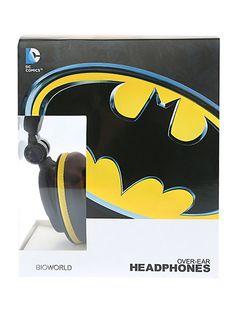 DC Comics Batman Headphones | Hot Topic