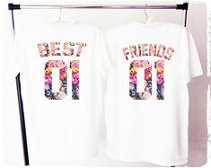BEST FRIENDS shirts bff shirs best friends tee besties