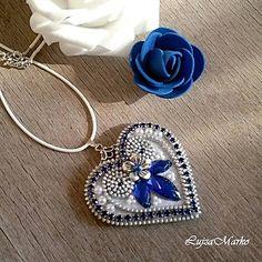 LujzaMarko / Srdiečko ľúbezné náhrdelník