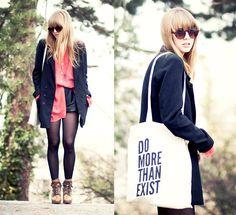 Do more than exist (by Lisa Dengler) http://lookbook.nu/look/3475591-do-more-than-exist