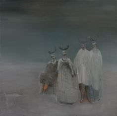 A gift from grandmothers by Kristin Vestgard - artist - Cornwall