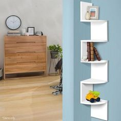 Buy 5-Tier Corner Wall Shelf Online in Australia