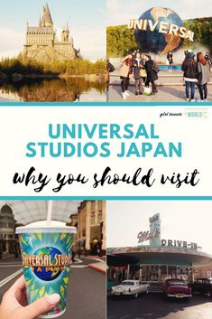 You don't need to be a Harry Potter fan to enjoy a visit to Universal Studios Japan (although Potter-heads will have a blast!) Why you should add USJ to your Osaka itinerary.  #universalstudios #japantravel #osaka #osakatravel #japan