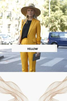 Yellow Pantone, Panama Hat, Hats, Fashion Inspiration, Yellow, Colors, Hat, Hipster Hat, Panama