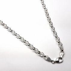 e21a62900d45 Tipos de cadenas de plata. Cadenas para hombre y cadenas para mujer.  Cientos de
