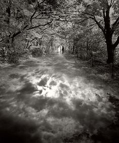 Path of Self-Discovery, Jerry Uelsmann. 2001