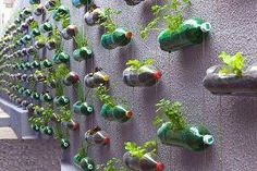 Recycling plastic bottles - shelving units - Part 2.