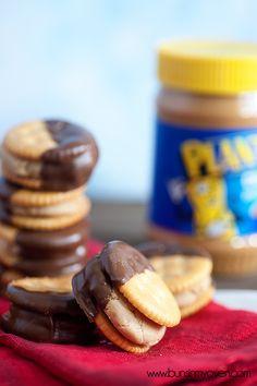 Buckeye Balls Sandwiches prove peanut butter and chocolate are the dream team
