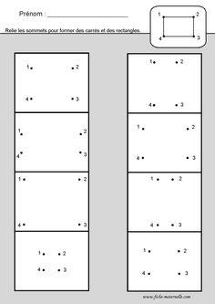 Site maternelle et cp : les figures géométriques