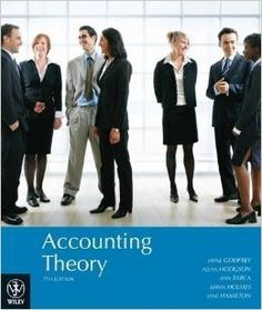 Solution Manual Accounting Theory 7th Edition by Jayne Godfrey