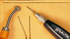 Not only is it personally gratifying to hand-sew leather, but this manual technique also offers a stronger suture than the traditional lock stitch created by sewing machines.