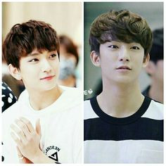 Gongchan and Joshua  so cute :) They're like brothers..