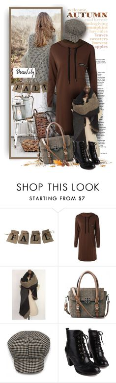"""Welcome Autumn - Dresslily"" by christiana40 ❤ liked on Polyvore featuring modern"