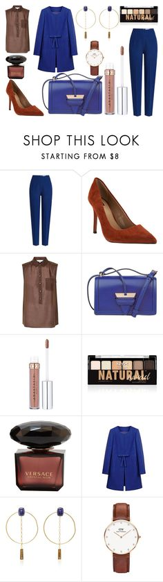 """Beatnik Trip"" by citrusapple-1 ❤ liked on Polyvore featuring Emilia Wickstead, Part Two, Loewe, NYX, WithChic, Isabel Marant and Daniel Wellington"