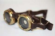Steampunk Goggles - Steampunk Crafts Wiki uses inspiration from cyberpunk to explain what is steampunk as well as share steampunk crafts inc...